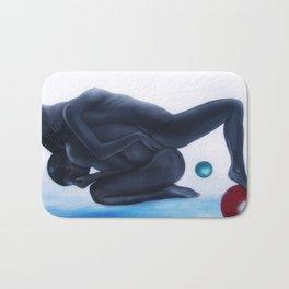 Black Love Bath Mat