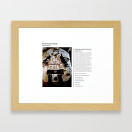 My Life Is Like A Collage / Art Stories Framed Art Print