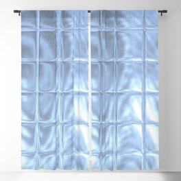 Square Glass Tiles 247 Blackout Curtain