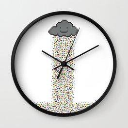 Pixel Precipitation Wall Clock