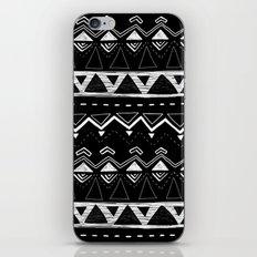 Black and White Pattern iPhone & iPod Skin