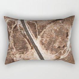 Curve Road Rectangular Pillow