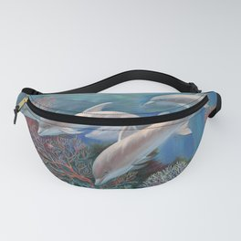 Happy Family - Dolphins Are Awesome Fanny Pack