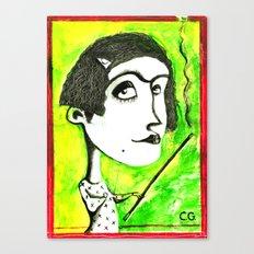 SMOKER ONE Canvas Print