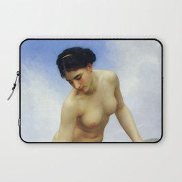 """William-Adolphe Bouguereau """"After the Bath"""" Laptop Sleeve"""