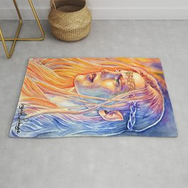 Facing The Flames Rug