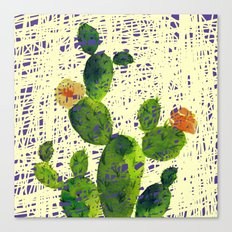weird cactus Canvas Print