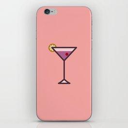 Cocktail - Icon Prints: Drinks Series iPhone Skin