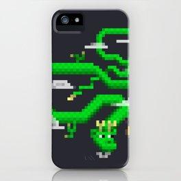 Pixel Celestial Dragon iPhone Case