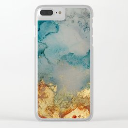 on golden pond Clear iPhone Case