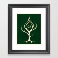 Ornë Framed Art Print