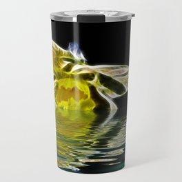 Watery Petals Travel Mug
