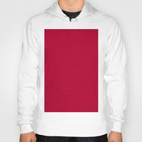 alabama Hoodies featuring Alabama Crimson by List of colors
