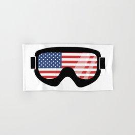 USA Goggles   Goggle Designs   DopeyArt Hand & Bath Towel