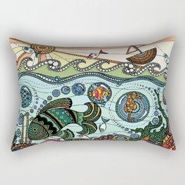 'What Lies Beneath' Rectangular Pillow