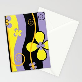 Colorful Spring Floral Graphic Art I Stationery Cards