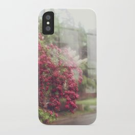 Rainy Window iPhone Case