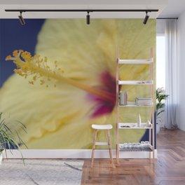 Kihei Hawaii Yellow Hibiscus Flowers Wall Mural