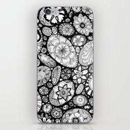 Stone doodle iPhone Skin
