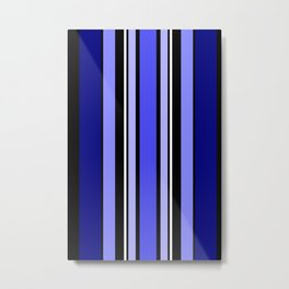Stripes in colour 7 Metal Print
