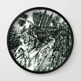 Super Simmetry Wall Clock