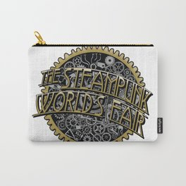 The Steampunk Worlds Fair Logo Poster Carry-All Pouch