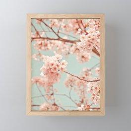 blossoms all over Framed Mini Art Print