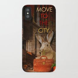Move to the city iPhone Case