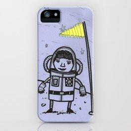 Lady Astronaut iPhone Case