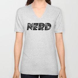 Nerd Pride - black Unisex V-Neck