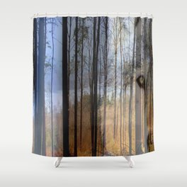 Wolf Country 2 Shower Curtain