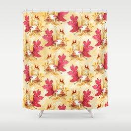 Autumn leaves #28 Shower Curtain