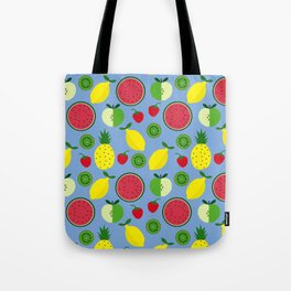 Fruits in blue Tote Bag