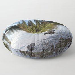 Time to Reflect Floor Pillow