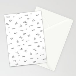 Cuss Words Stationery Cards