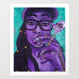 CallMeVal Art Print
