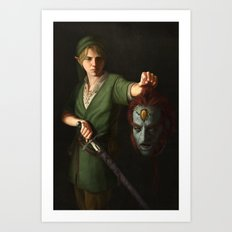 Hero of Time Art Print