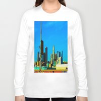cityscape Long Sleeve T-shirts featuring Cityscape by Life Of A Lens Studios