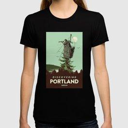 DISCOVERING PORTLAND OREGON T-shirt
