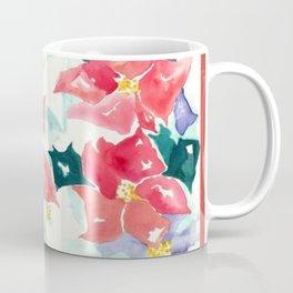 Poinsettia Cheer Coffee Mug