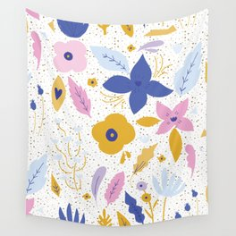 Sunday Florals Wall Tapestry