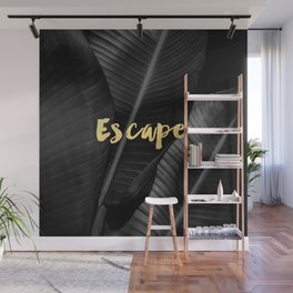 Escape - gold Wall Mural
