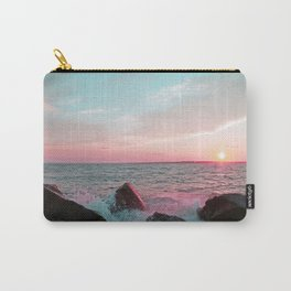 Pink and Blue Sunset Over Newport Rhode Island Carry-All Pouch