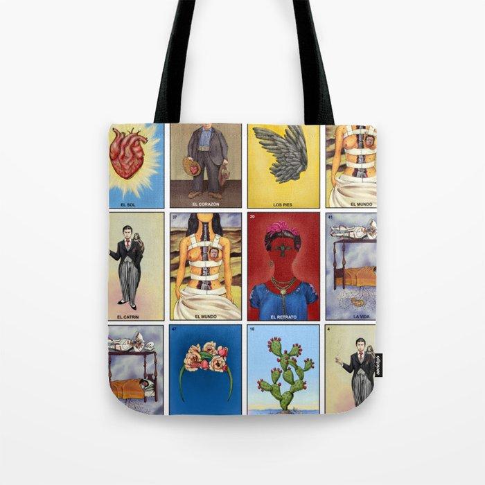 La Lotería de Frida Tote Bag