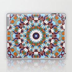 Retro Indian Leather Mandala Laptop & iPad Skin