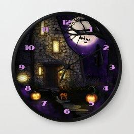 Spider Halloween Wall Clock