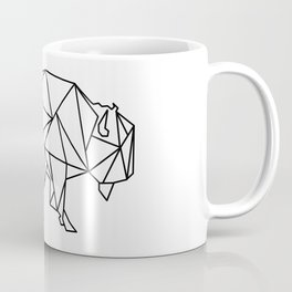 Geometric bizon Coffee Mug