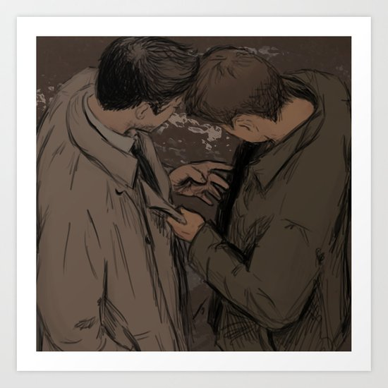 Profound Bond Art Print
