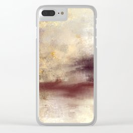 A Storm is Brewing Clear iPhone Case