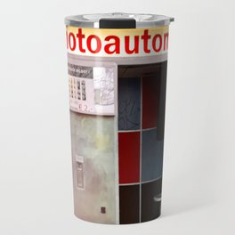 Photoautomat in Berlin Travel Mug